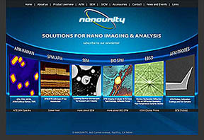 Nanounity solutions for nano imiging & analysis