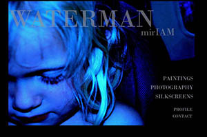 website for Miriam Waterman
